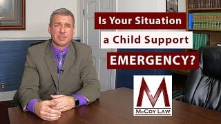 contact earl mccoy for questions regarding child support